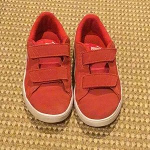 Red puma size 2- gently used
